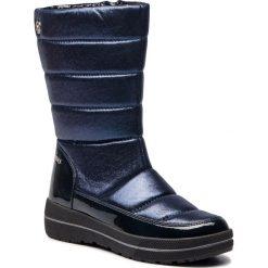 Śniegowce CAPRICE - 9-26453-21 Navy Comb 815. Niebieskie buty zimowe damskie Caprice, z materiału. Za 299,90 zł.