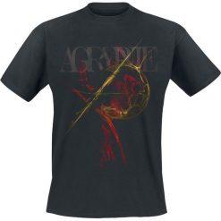 T-shirty męskie: Agrypnie Grenzgaenger T-Shirt czarny