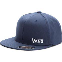 Czapka z daszkiem VANS - Splitz VN000CFKLKZ  Dress Blues. Niebieskie czapki z daszkiem damskie marki Vans, z bawełny. Za 119,00 zł.