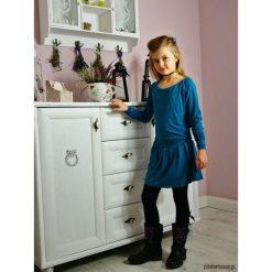Sukienki dziewczęce z falbanami: Sukienka ANTONINE MINI dla dziewczynki morska