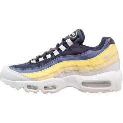 Trampki męskie: Nike Sportswear AIR MAX 95 ESSENTIAL Tenisówki i Trampki white/vast grey/lemon wash/tour yellow