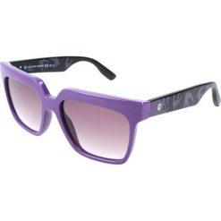 """Okulary przeciwsłoneczne damskie aviatory: Okulary przeciwsłoneczne """"0019/S RLQ/J8"""" w kolorze czarno-fioletowym"""
