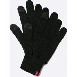 Levi's - Rękawiczki. Brązowe rękawiczki męskie Levi's®, z bawełny. W wyprzedaży za 79,90 zł.