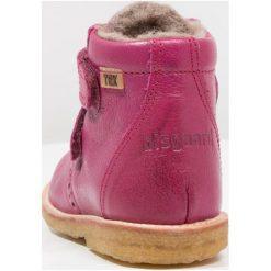 Bisgaard Botki pink. Czerwone buty zimowe damskie Bisgaard, z materiału. W wyprzedaży za 241,45 zł.