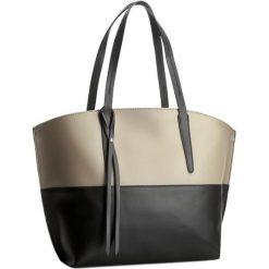 Torebka CREOLE - K10193 Czarny/Beż. Brązowe torebki klasyczne damskie Creole, ze skóry. W wyprzedaży za 249,00 zł.