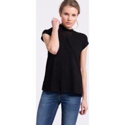 Nike Sportswear - Top. Czarne topy sportowe damskie Nike Sportswear, l, z dzianiny, z krótkim rękawem. W wyprzedaży za 139,90 zł.