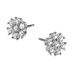 Kolczyki damskie: Kolczyki w kolorze srebrnym