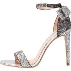 Sandały damskie: Office HARRIET Sandały na obcasie silver pewter/ombre glitter