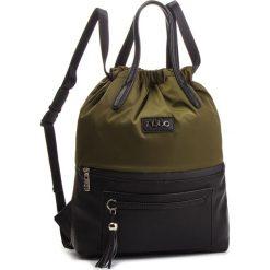 Plecak NOBO - NBAG-F4330-C008  Zielony. Zielone plecaki damskie Nobo, z materiału. W wyprzedaży za 179,00 zł.