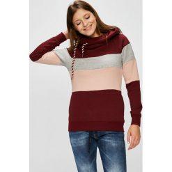 Only - Bluza. Szare bluzy z kapturem damskie ONLY, l, z bawełny. Za 169,90 zł.