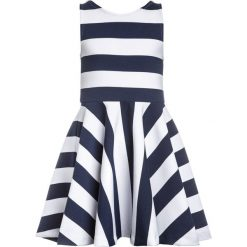 Odzież dziecięca: Polo Ralph Lauren PONTE DRESSES Sukienka letnia newport navy/white