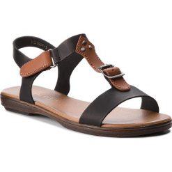 Sandały damskie: Sandały VIA RAVIA – WS1807-3 Czarny 1