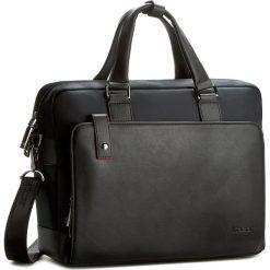 Torba na laptopa KAZAR - 13812-TE-00 Czarny. Czarne plecaki męskie marki Kazar, w paski, ze skóry. W wyprzedaży za 309,00 zł.