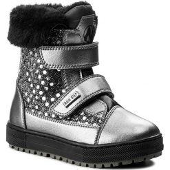 Kozaki dziewczęce: Śniegowce NATURINO – Loira 0013001241.02.9111 Acciaio/Nero M