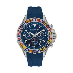 """Zegarki męskie: Zegarek """"NAD19562G"""" w kolorze niebieskim"""
