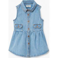 Sukienki dziewczęce: Mango Kids – Sukienka dziecięca Lulu 80-104 cm