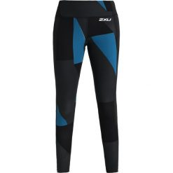 2XU FITNESS COMPRESSION  Legginsy black. Czarne legginsy 2XU, xs, z elastanu. W wyprzedaży za 314,25 zł.