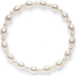 Bransoletki damskie: Bransoletka w kolorze białym