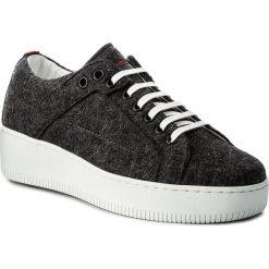 Sneakersy BOSS - Margaret-FT 50376711 10202341 01 Charcoal 011. Szare sneakersy damskie Boss, z materiału. W wyprzedaży za 519,00 zł.
