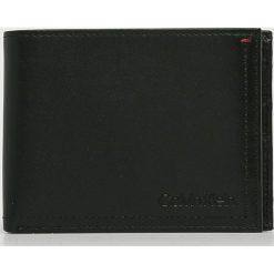 Calvin Klein - Portfel. Czarne portfele męskie Calvin Klein, z materiału. Za 349,90 zł.