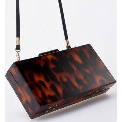 Torebka z wzorem - Brązowy. Brązowe torebki klasyczne damskie Reserved. Za 159,99 zł.