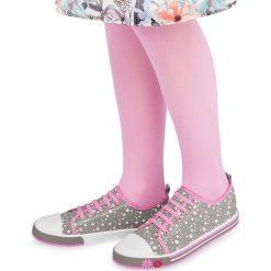Trampki z cyrkoniami dla dziewczynki Trampki dziewczęce