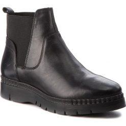 Botki GEOX - D Emsley B D747BB 000LC C9999 Black. Czarne buty zimowe damskie Geox, z materiału. W wyprzedaży za 339,00 zł.