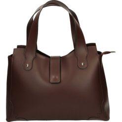 Torba - 142-01-M R BO. Czarne torebki klasyczne damskie marki Venezia, ze skóry. Za 239,00 zł.