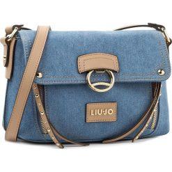 Torebka LIU JO - S Crossbody Dakota A18107 T9779  Denim 00737. Niebieskie torebki klasyczne damskie marki Liu Jo, z denimu. Za 569,00 zł.