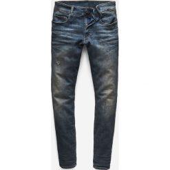 G-Star Raw - Jeansy 3301. Niebieskie jeansy męskie regular G-Star RAW. W wyprzedaży za 479,90 zł.