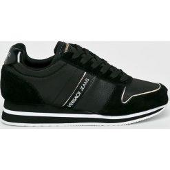 Versace Jeans - Buty. Czarne buty sportowe damskie Versace Jeans, z jeansu. Za 579,90 zł.