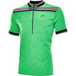 """T-shirty męskie: Koszulka kolarska """"Flinton"""" w kolorze zielonym"""