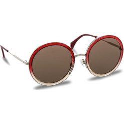Okulary przeciwsłoneczne TOMMY HILFIGER - 1474/S Shdfuchpeach 4TL. Brązowe okulary przeciwsłoneczne damskie aviatory TOMMY HILFIGER. W wyprzedaży za 479,00 zł.