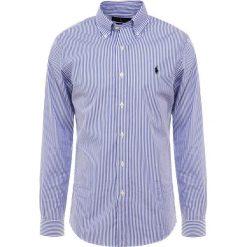 Polo Ralph Lauren NATURAL SLIM FIT Koszula blue/white bengal. Szare koszule męskie slim marki Polo Ralph Lauren, l, z bawełny, button down, z długim rękawem. Za 419,00 zł.