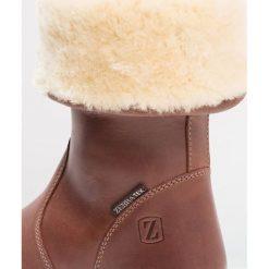 Buty zimowe damskie: Zebra Schuhe VICKY Kozaki tabacco