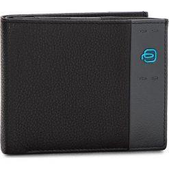 Duży Portfel Męski PIQUADRO - PU1240P15 N. Czarne portfele męskie marki Piquadro, ze skóry. Za 419,00 zł.