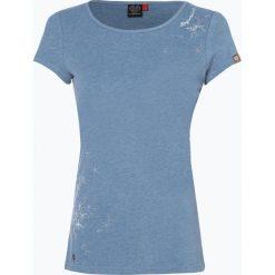 Ragwear - T-shirt damski – Mint Print, niebieski. Niebieskie t-shirty damskie marki Ragwear, m, z nadrukiem. Za 59,95 zł.