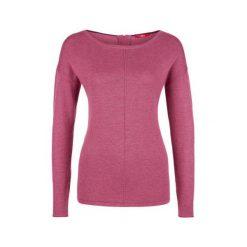 S.Oliver Sweter Damski 34 Bordowy. Czerwone swetry klasyczne damskie marki S.Oliver, s, z dekoltem na plecach. W wyprzedaży za 104,52 zł.