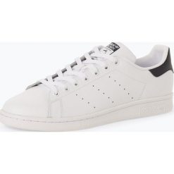 Adidas Originals - Męskie tenisówki ze skóry – Stan Smith, czarny. Czarne tenisówki męskie marki adidas Originals, ze skóry. Za 409,95 zł.