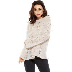 Odzież damska: Sweter w kolorze beżowym