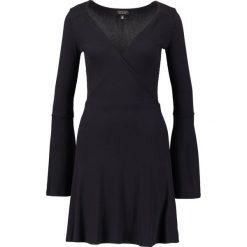 Sukienki: Topshop Sukienka z dżerseju black