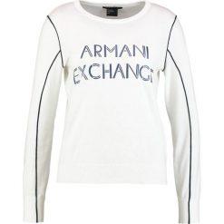 Odzież damska: Armani Exchange Sweter white