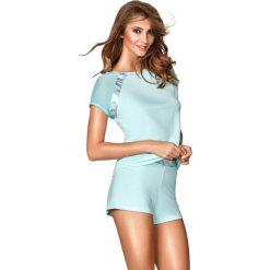 """Piżama """"Simi III"""" w kolorze niebieskim. Niebieskie piżamy damskie Kinga, xs. W wyprzedaży za 129,95 zł."""