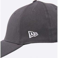 New Era - Czapka. Szare czapki z daszkiem męskie New Era. W wyprzedaży za 69,90 zł.