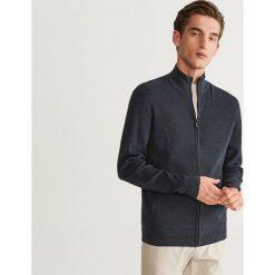 Sweter zapinany na zamek - Granatowy. Niebieskie swetry rozpinane męskie Reserved, l. Za 99,99 zł.