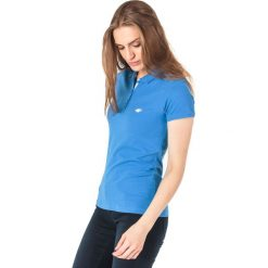 Bluzki asymetryczne: 4f Koszulka polo damska H4L18-TSD017 kobaltowa r. S