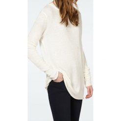 """Swetry klasyczne damskie: Sweter """"Terywood"""" w kolorze kremowym"""