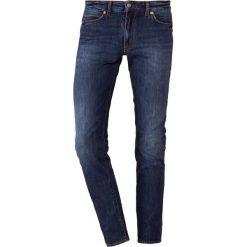 DRYKORN JAW Jeansy Slim Fit blue. Niebieskie jeansy męskie relaxed fit marki DRYKORN, m, z dekoltem karo. Za 589,00 zł.