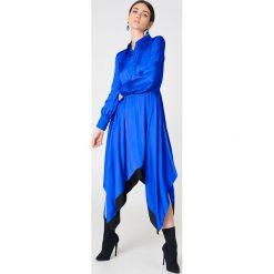 Sukienki: Baum und Pferdgarten Sukienka Abya – Blue