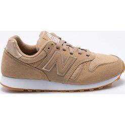 New Balance - Buty WL373OIT. Szare buty sportowe damskie New Balance, z gumy. W wyprzedaży za 239,90 zł.